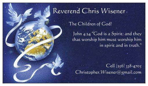 Reverend Christopher Wisener